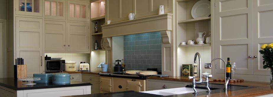 A specialist handmade kitchen from Grahame R Bolton of Bungay, Suffolk