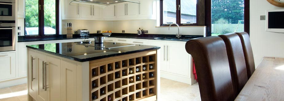 A custom made kitchen from Grahame R Bolton of Bungay, Suffolk